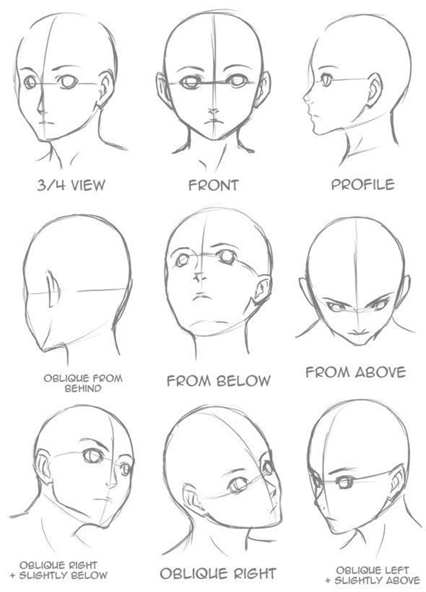 how to draw anime step by step anime face sketch at paintingvalleycom explore by draw how to anime step step