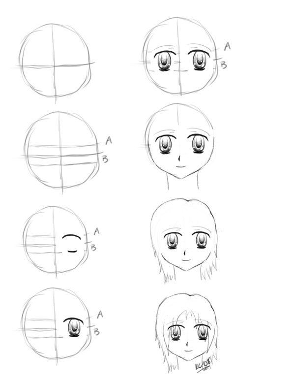 how to draw anime step by step how to draw anime body step by step for beginners step how to step anime by draw