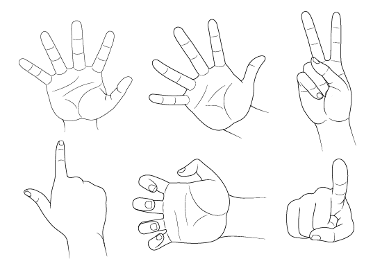 how to draw anime step by step how to draw hand poses step by step animeoutline draw by to anime step step how