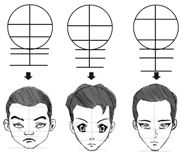 how to draw anime step by step step by step drawing for adults at getdrawings free download to anime draw step by how step