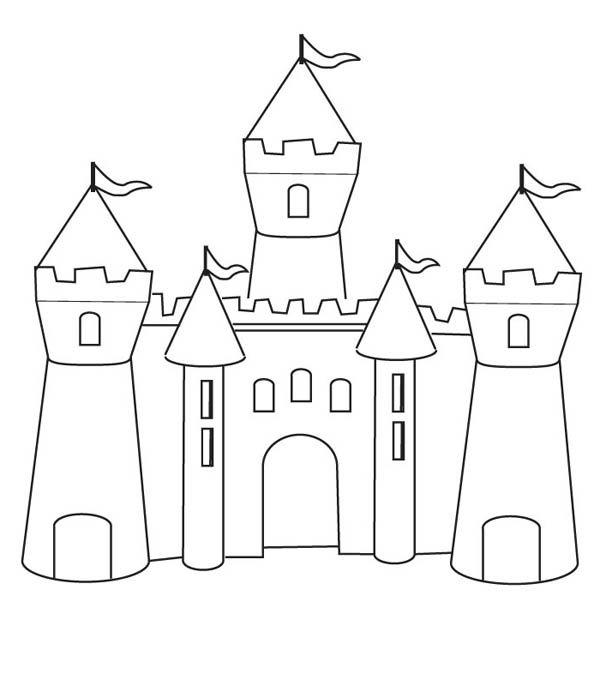 how to draw castle easy kids drawing lessons how to draw a cartoon castle to draw castle how