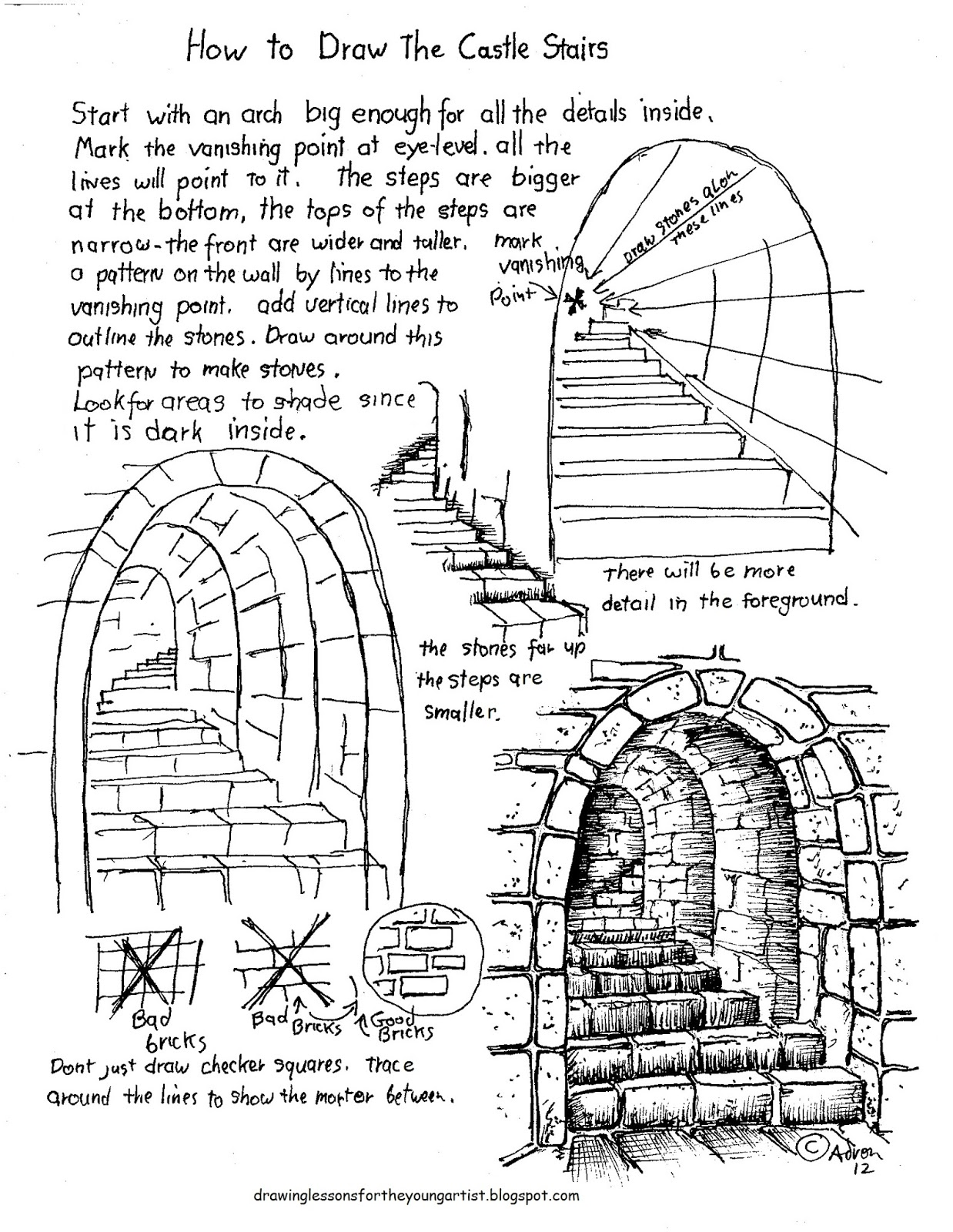 how to draw castle four step castle drawing tutorial by built4ever on to how draw castle