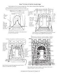how to draw castle how to draw a castle drawing mentor castle to how draw
