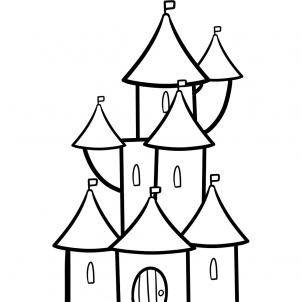 how to draw castle how to draw worksheets for the young artist how to draw a how draw to castle