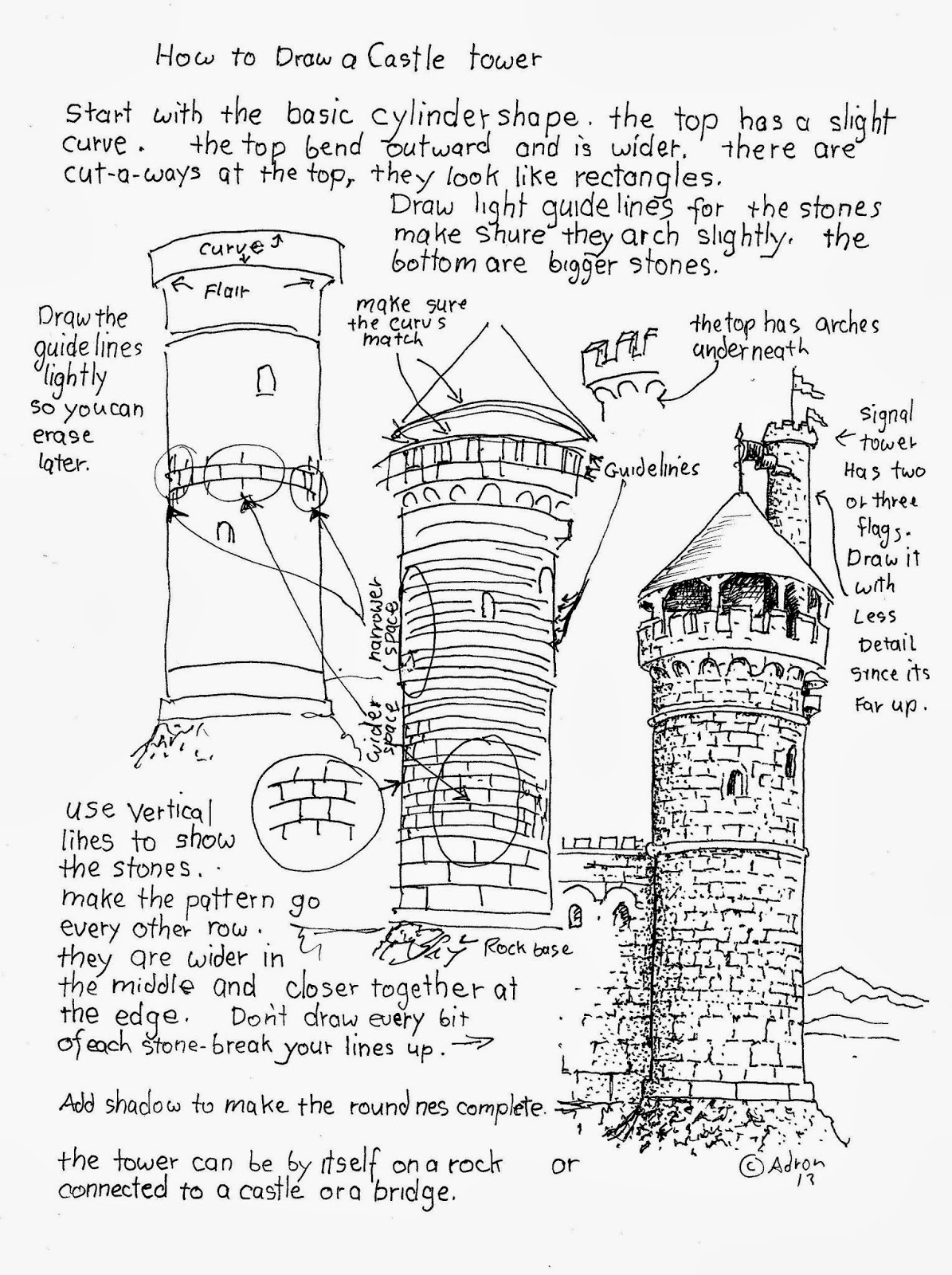 how to draw castle minaret coloring pages draw how to castle