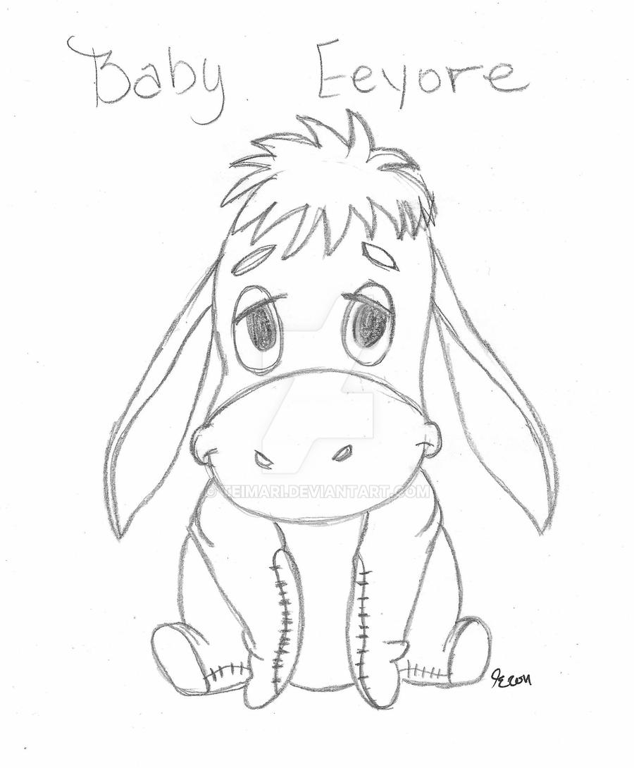 how to draw eeyore how to draw eeyore with easy step by step drawing lessons how draw to eeyore