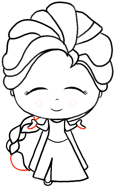 how to draw elsa easy step by step how to draw princess elsa39s portrait frozen sketchok how elsa step step to draw by easy