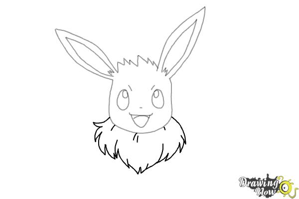 how to draw evee 133 eevee lineart by lilly gerbil on deviantart draw how evee to