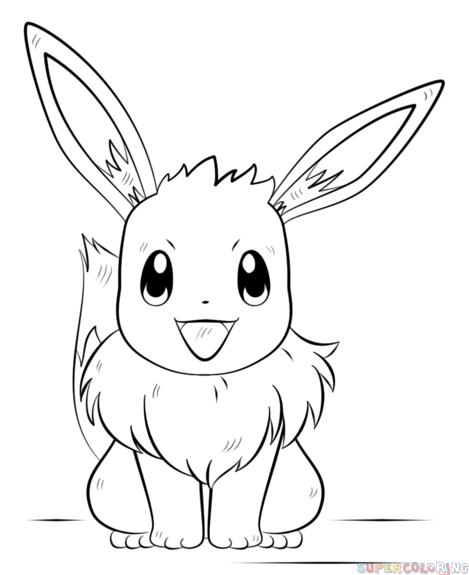 how to draw evee eevee by frayedgloves on deviantart draw evee how to