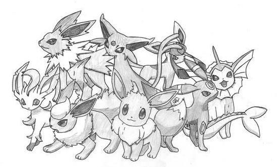 how to draw evee eevee lineart by crazyjay619 on deviantart draw evee how to