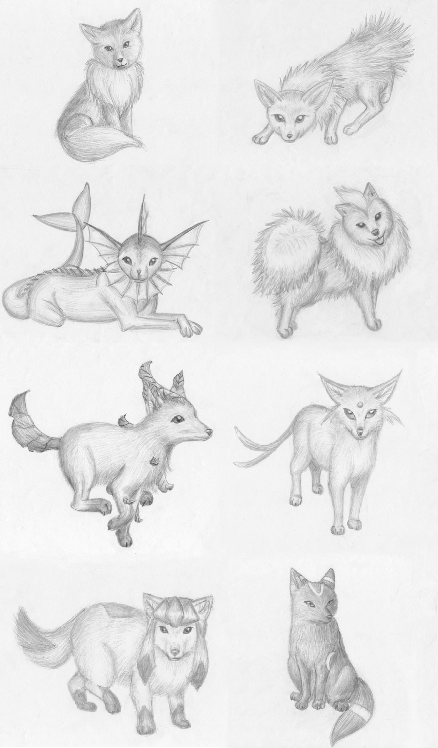how to draw evee eevee lineart by skylight1989 on deviantart to draw how evee
