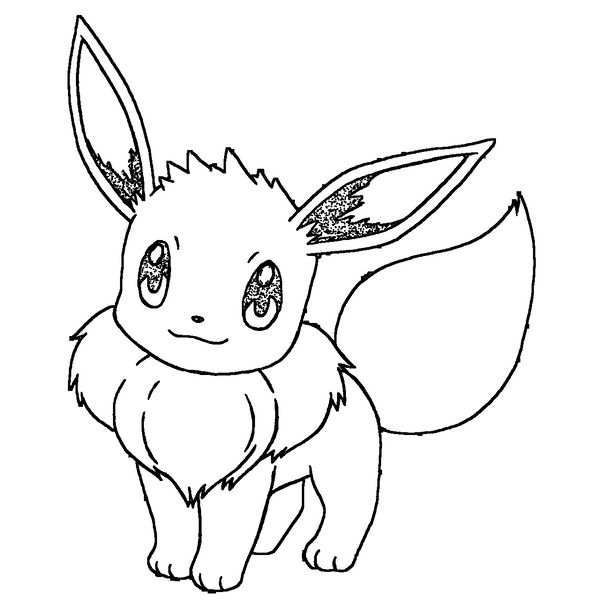 how to draw evee how to draw eevee pokemon draw central how draw evee to
