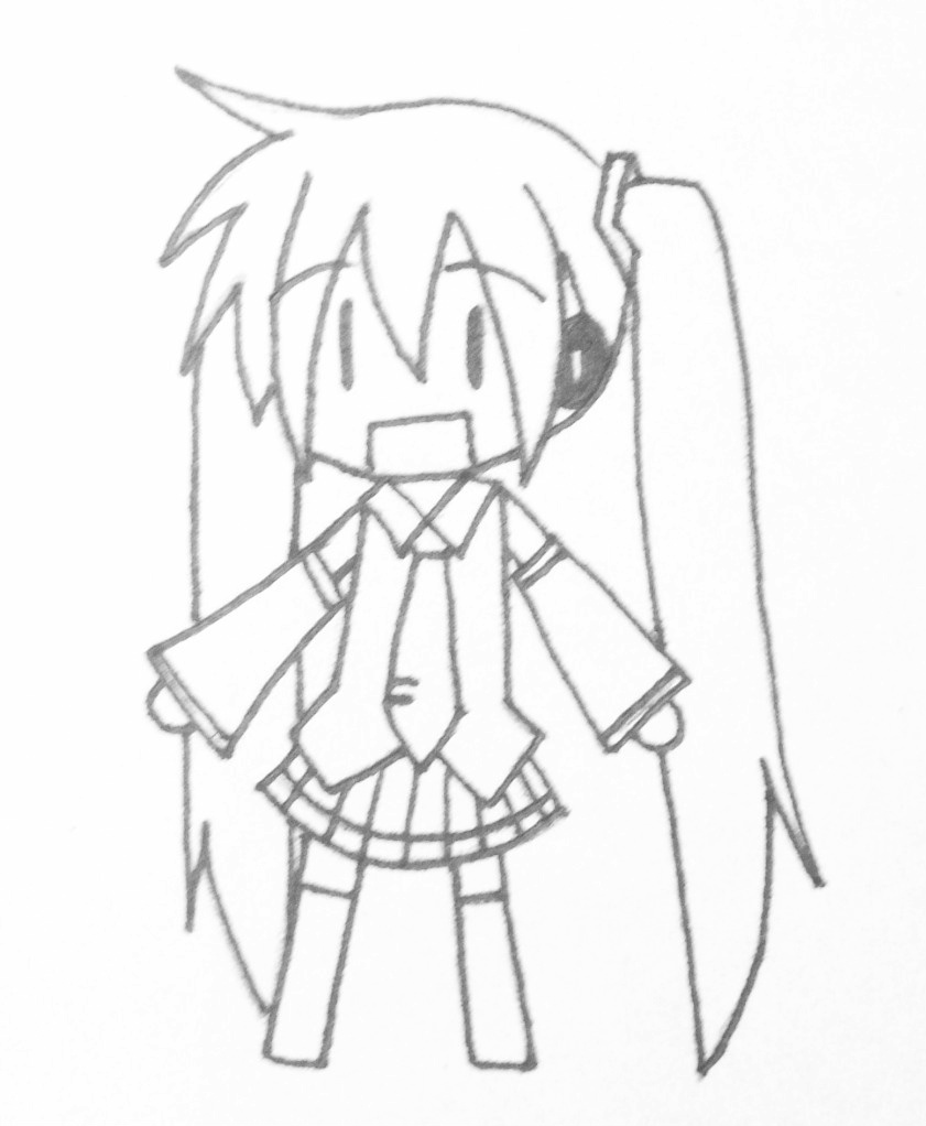 how to draw hatsune miku easy 10 best for chibi hatsune miku drawing easy inter venus to miku easy hatsune draw how