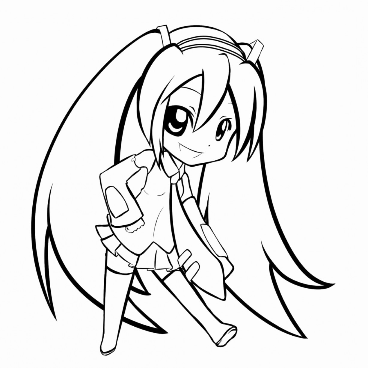 how to draw hatsune miku easy hatsune miku chibi drawing free download on clipartmag easy miku draw to hatsune how