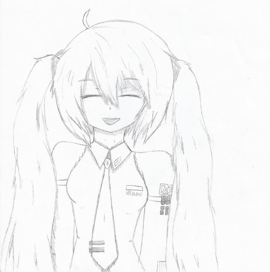 how to draw hatsune miku easy learn how to draw hatsune miku from vocaloid vocaloid to miku hatsune how easy draw