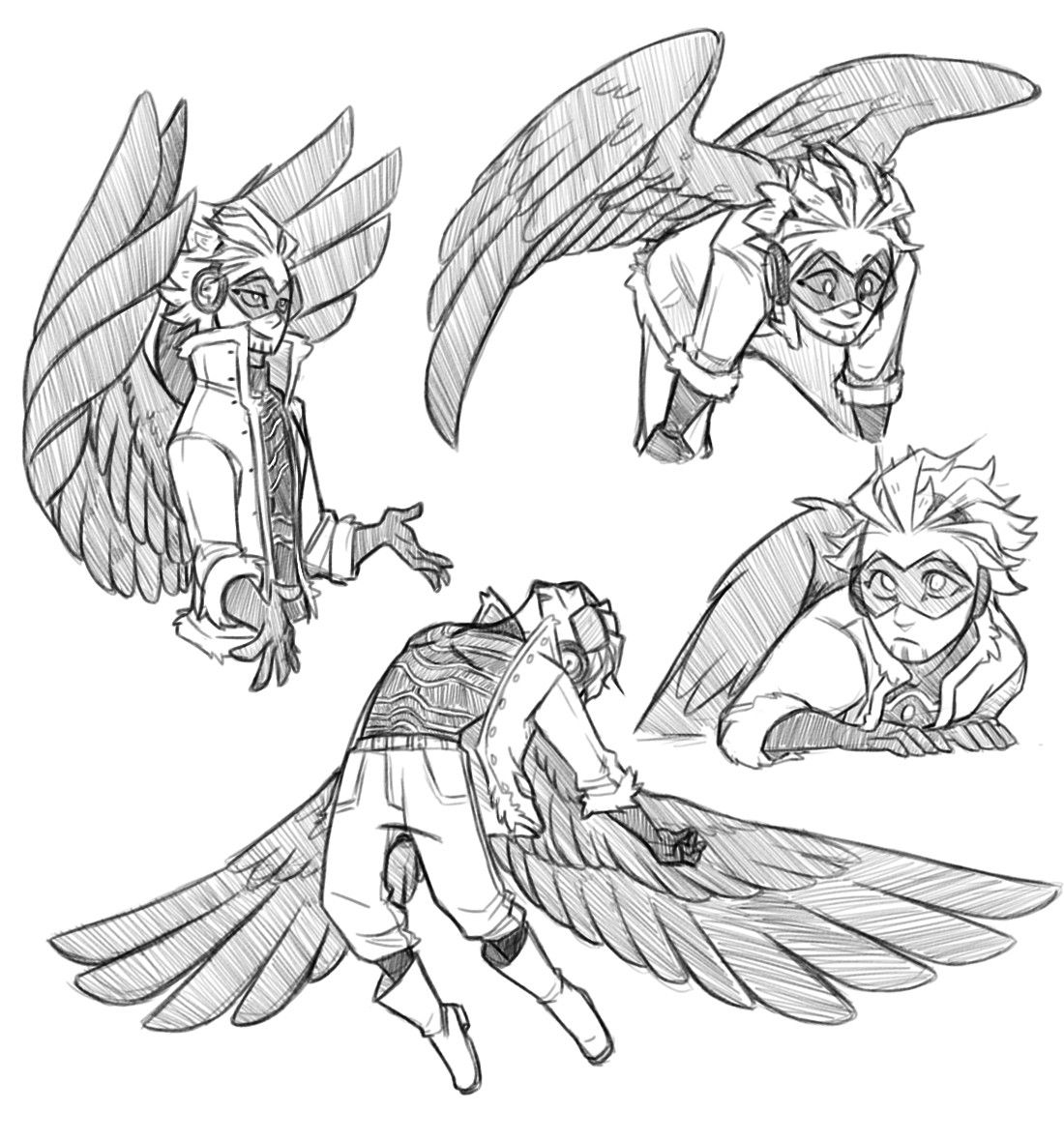 how to draw hawk wings pin on anime junk how draw to hawk wings
