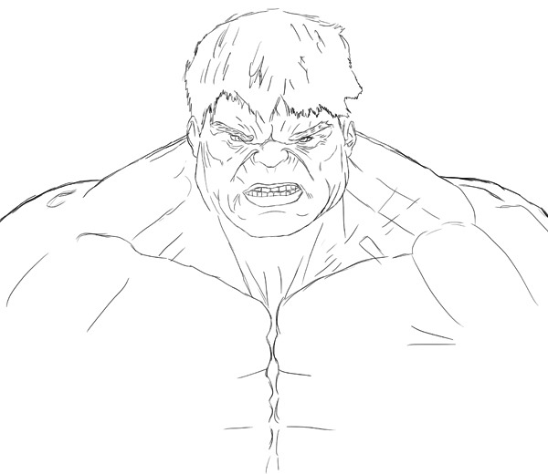 how to draw hulk easy step by step drawn hulk beginner pencil and in color drawn hulk beginner hulk how by step to draw easy step