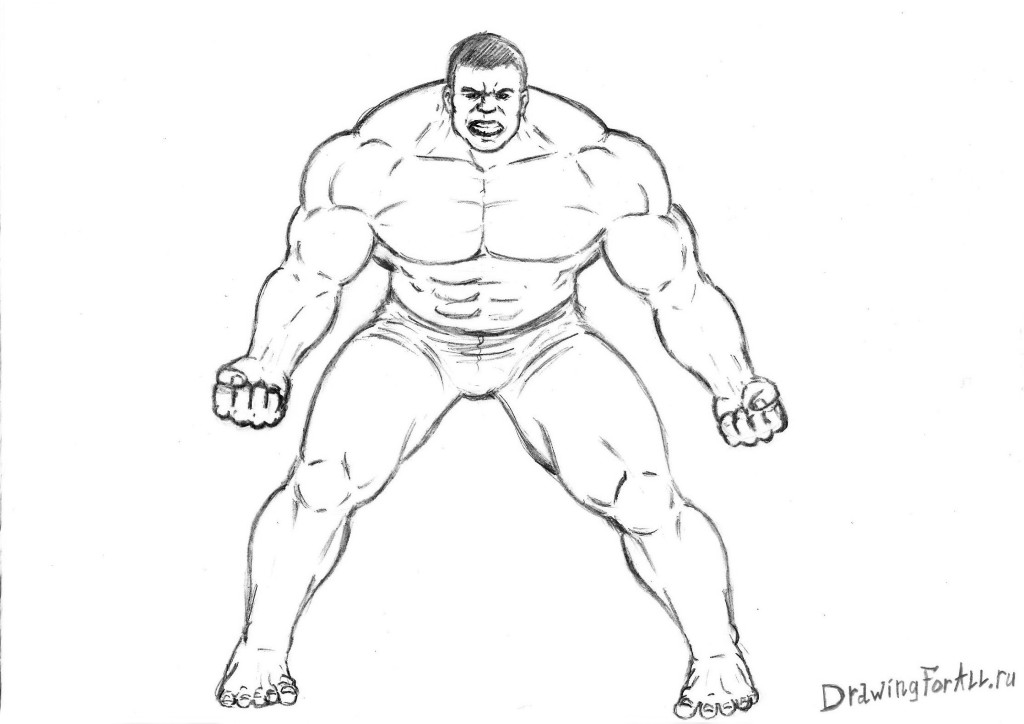 how to draw hulk easy step by step how to draw the incredible hulk drawingforallnet draw to hulk step step by easy how