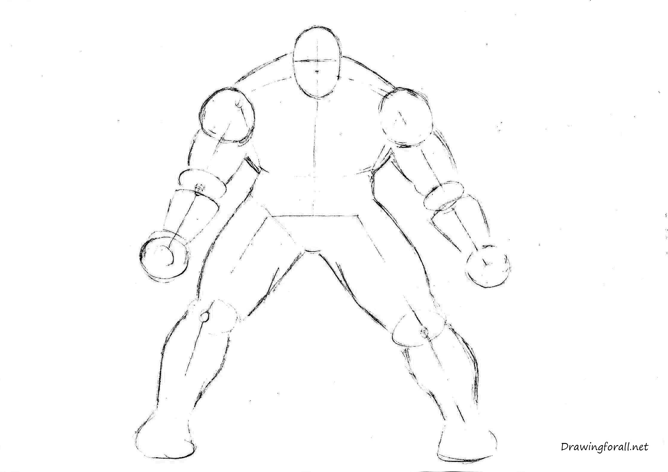 how to draw hulk easy step by step how to draw the incredible hulk drawingforallnet easy how draw by step to hulk step