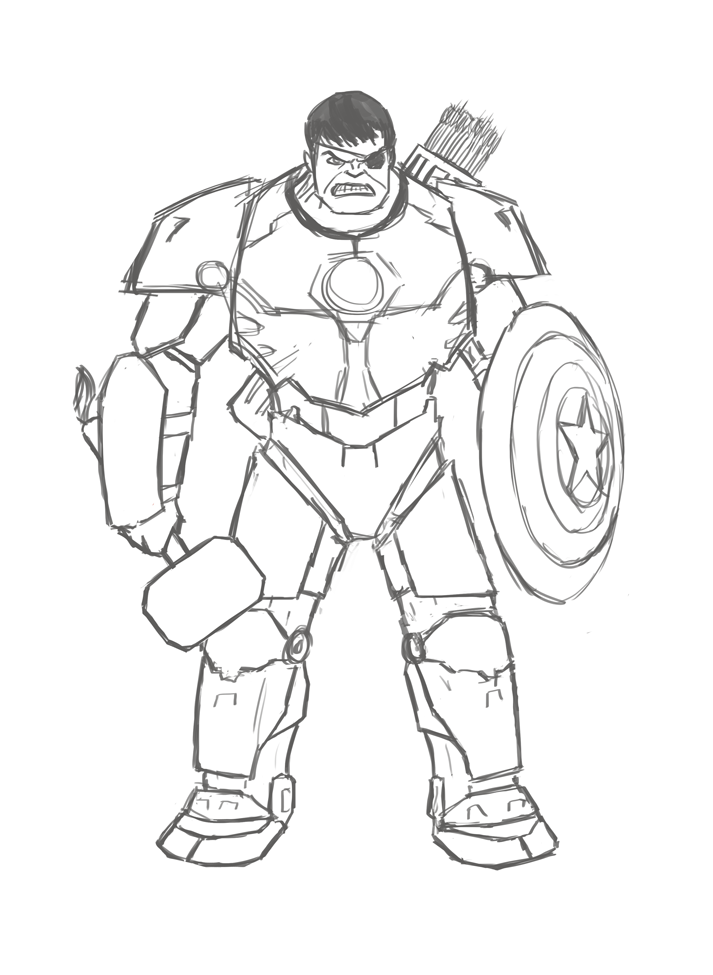 how to draw hulk easy step by step hulk easy drawing at getdrawings free download step how hulk easy step by to draw
