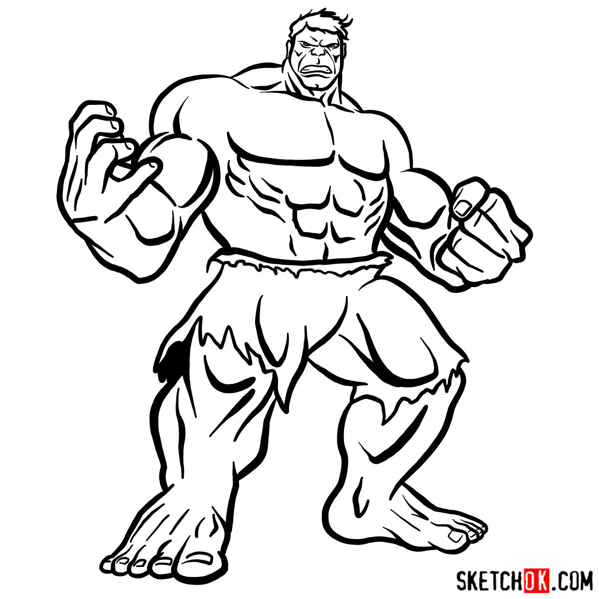 how to draw hulk easy step by step learn how to draw the hulk the hulk step by step step easy how hulk to by step draw