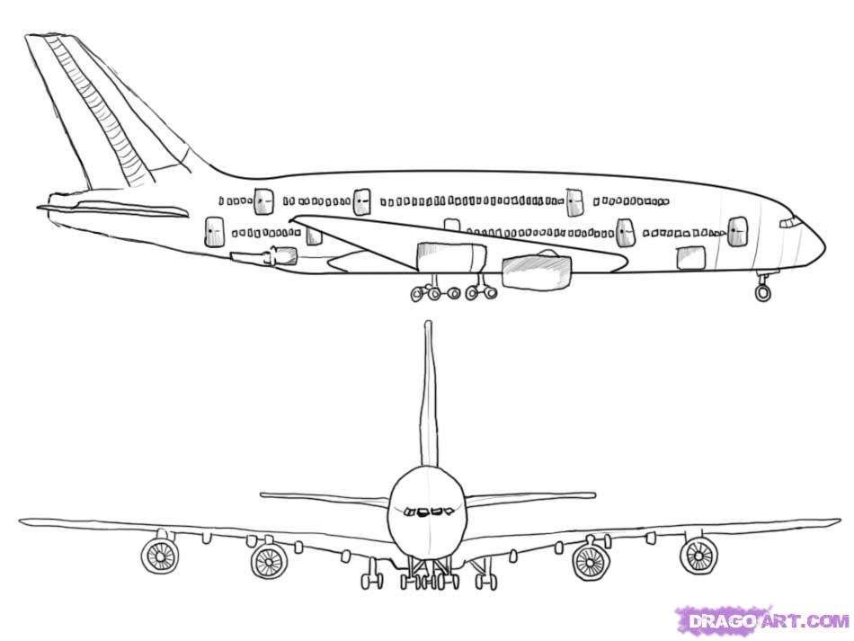 how to draw jet step by step how to draw a jet how jet step step by draw to