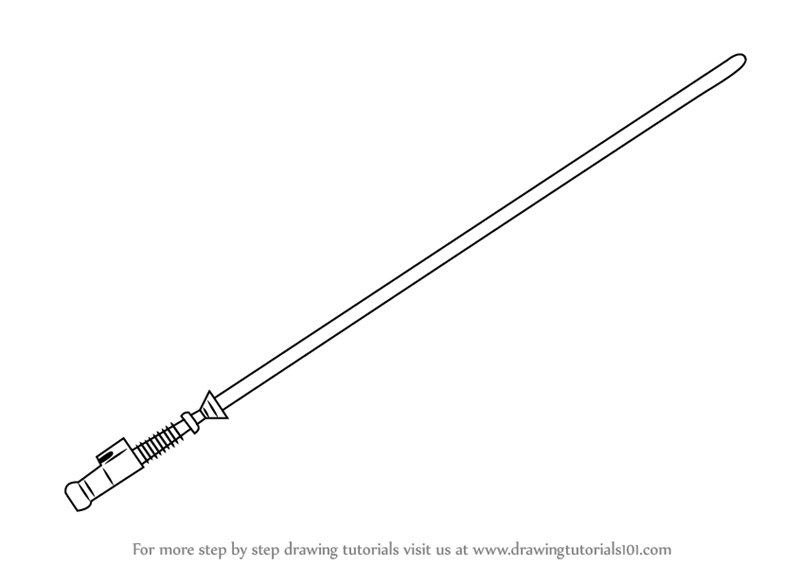 how to draw lightsaber learn how to draw lightsaber from star wars star wars lightsaber draw how to