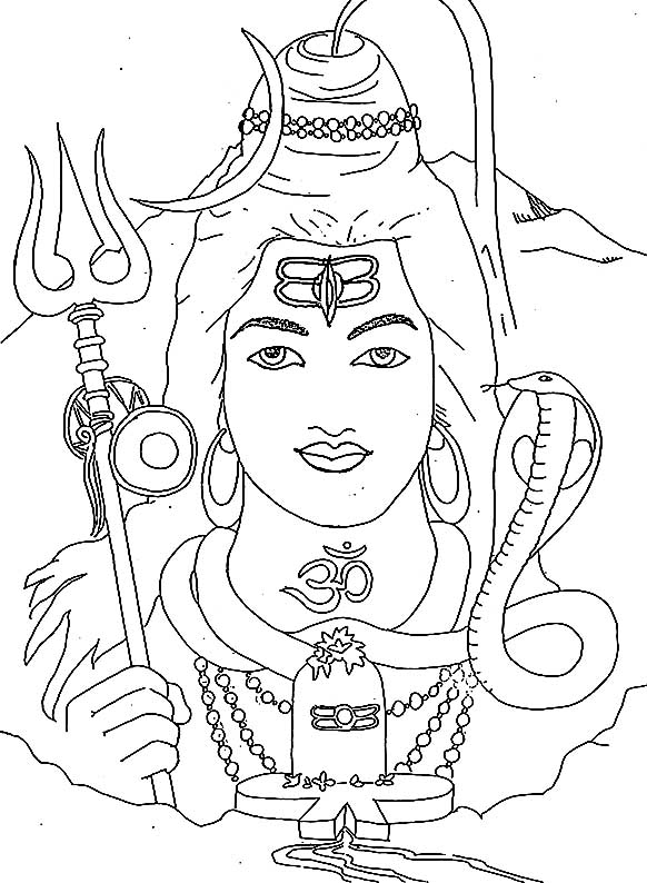 how to draw lord shiva face lord shiva coloring page free printable coloring pages draw shiva how to lord face