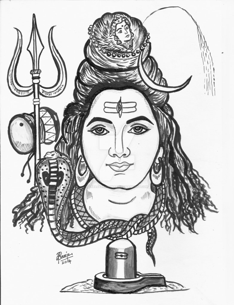 how to draw lord shiva face sketch siva with images shiva tattoo lord shiva shiva how to draw lord face