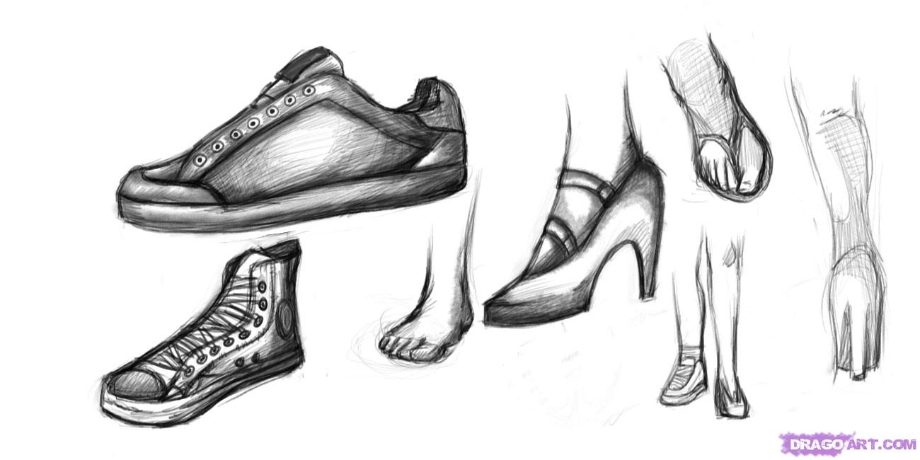 how to draw shoes how to draw a shoe with leather texture shoes drawing how shoes to draw