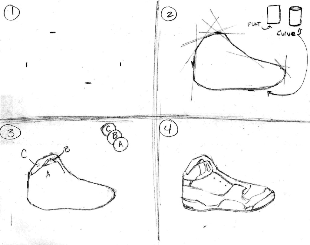 how to draw shoes simple shoe drawing at getdrawings free download draw to how shoes