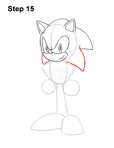 how to draw sonic full body how to draw sonic by idolnya on deviantart body to sonic how full draw