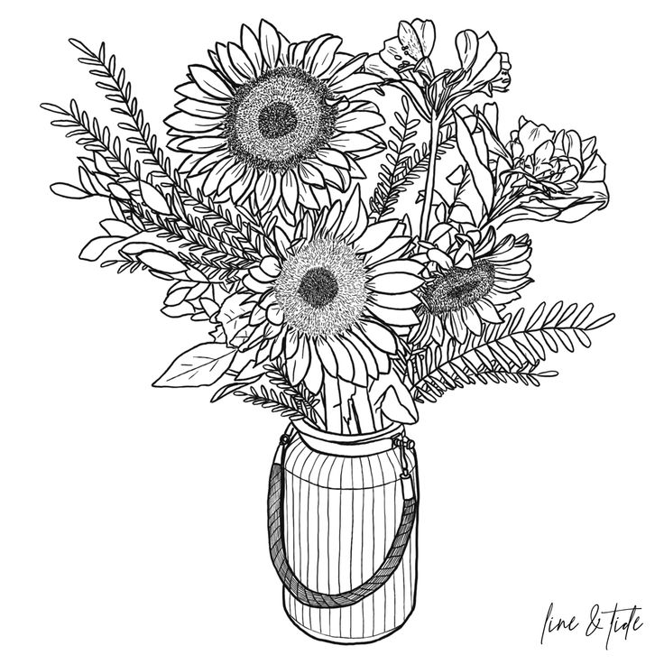 how to draw sunflowers how to draw a sunflower easy youtube sunflowers draw to how