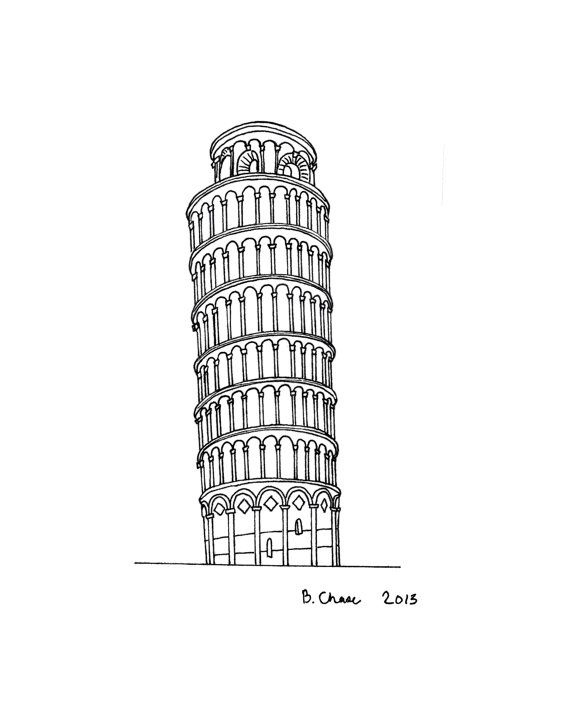 how to draw the leaning tower of pisa great buildings drawing leaning tower of pisa building the to draw of tower how pisa leaning