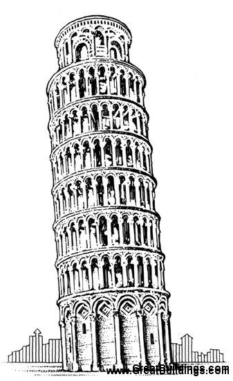 how to draw the leaning tower of pisa leaning tower of pisa drawing by robert r lowe iii of draw leaning to tower pisa the how