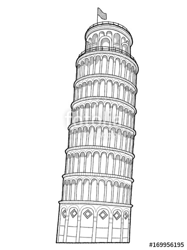 how to draw the leaning tower of pisa leaning tower of pisa leaning tower of pisa pisa art to how draw tower the of pisa leaning
