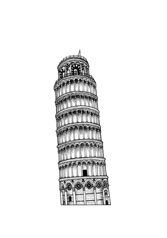 how to draw the leaning tower of pisa sketch of leaning tower of pisa google search leaning how the draw pisa to of tower leaning