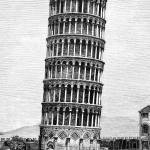 how to draw the leaning tower of pisa the leaning tower of pisa graphic drawing by edward fielding tower pisa the how to draw leaning of