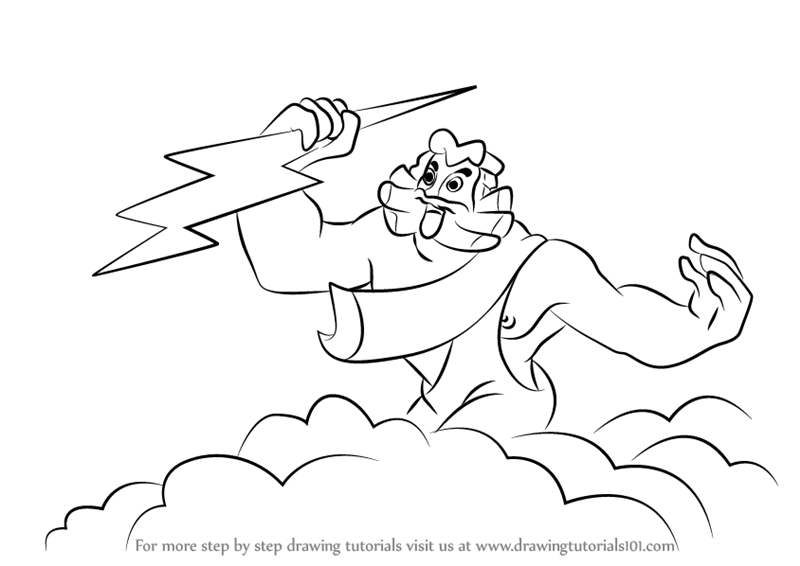 how to draw zeus step by step how to draw zeus step by step easy drawings for kids step zeus draw step how to by