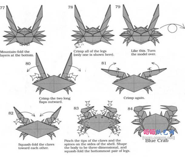 how to make origami crab origami crab instructions easy to origami crab how make