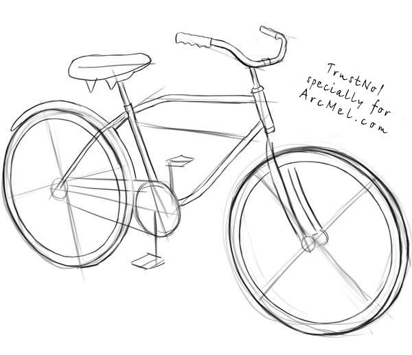 how to sketch a bike dave atkinson the science of cycology can you draw a to a sketch how bike