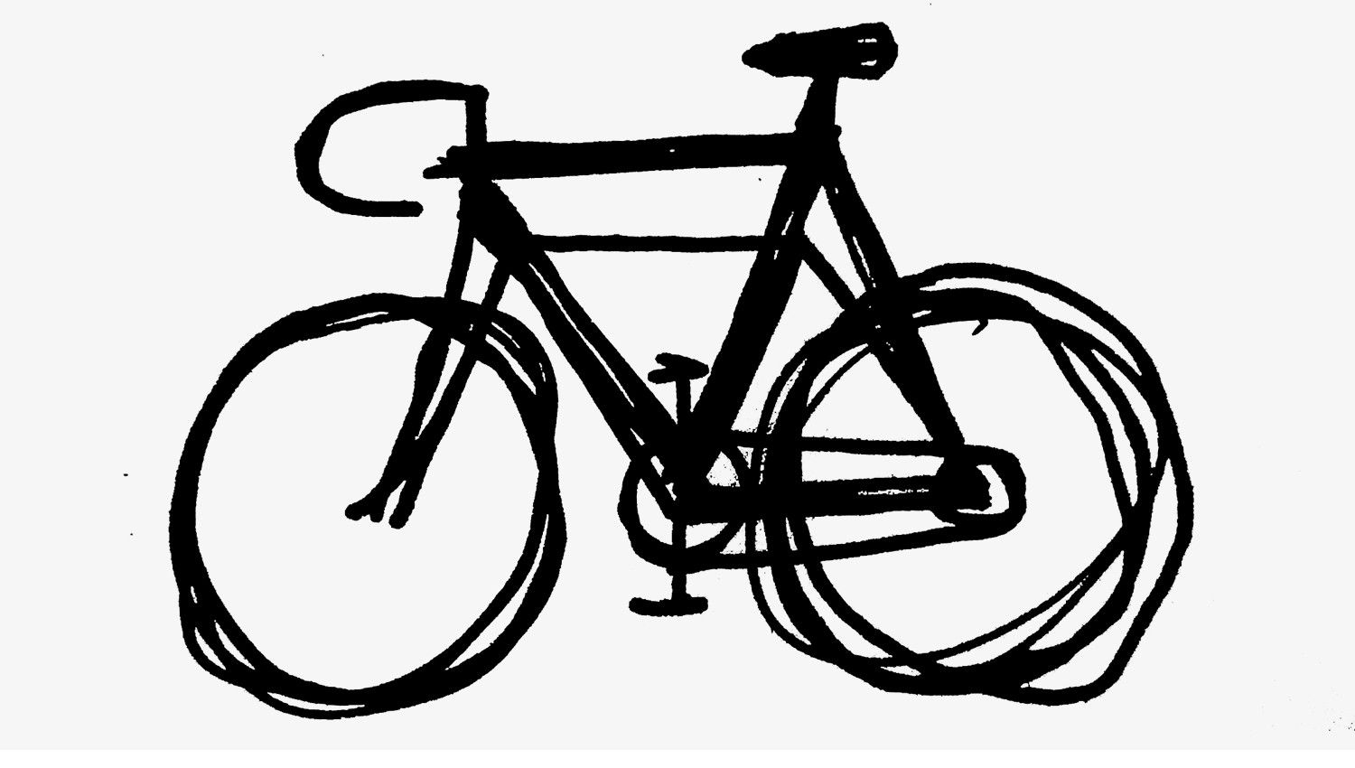 how to sketch a bike easy kids drawing lessonshow to draw cartoon bicycle for to sketch a bike how