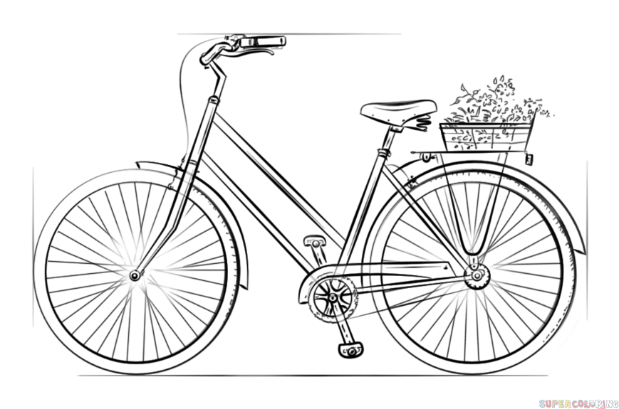 how to sketch a bike how to draw a bicycle extract from let39s make some great sketch bike a how to