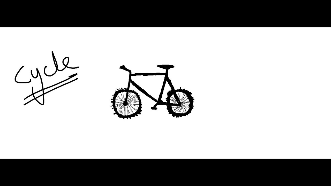 how to sketch a bike learn how to draw a bicycle two wheelers step by step a how sketch to bike