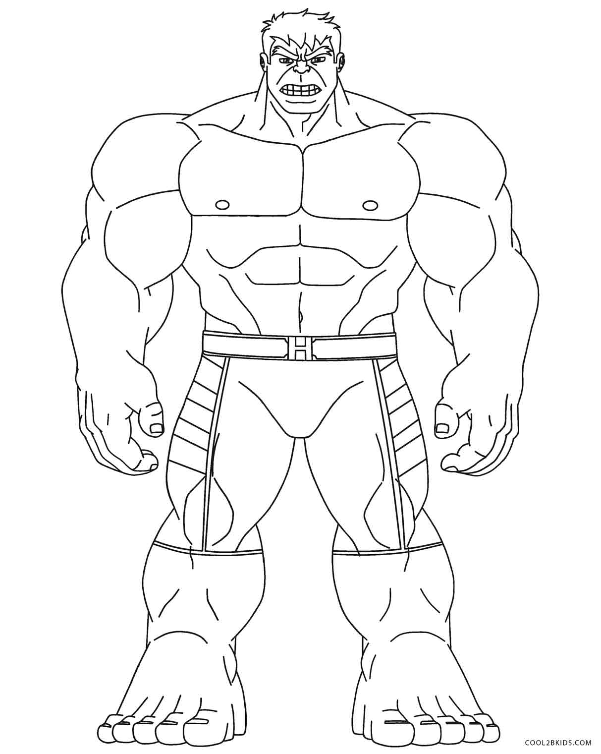 hulk for coloring free printable hulk coloring pages for kids cool2bkids coloring hulk for