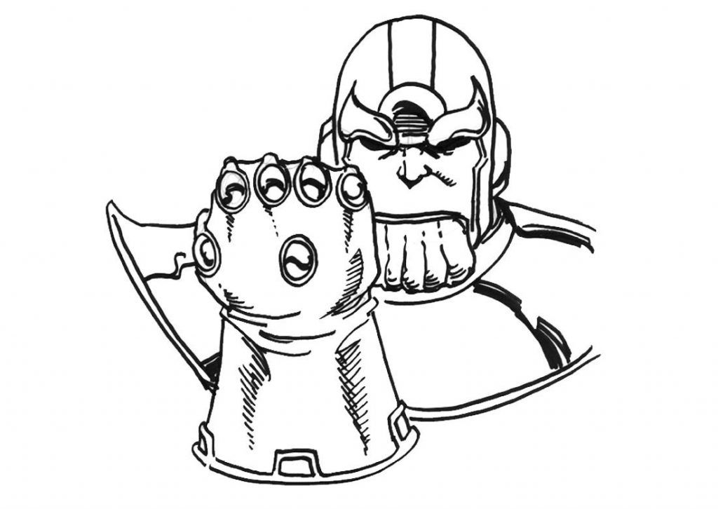 hulk vs thanos coloring page thanos from avengers coloring page free coloring pages hulk thanos coloring vs page