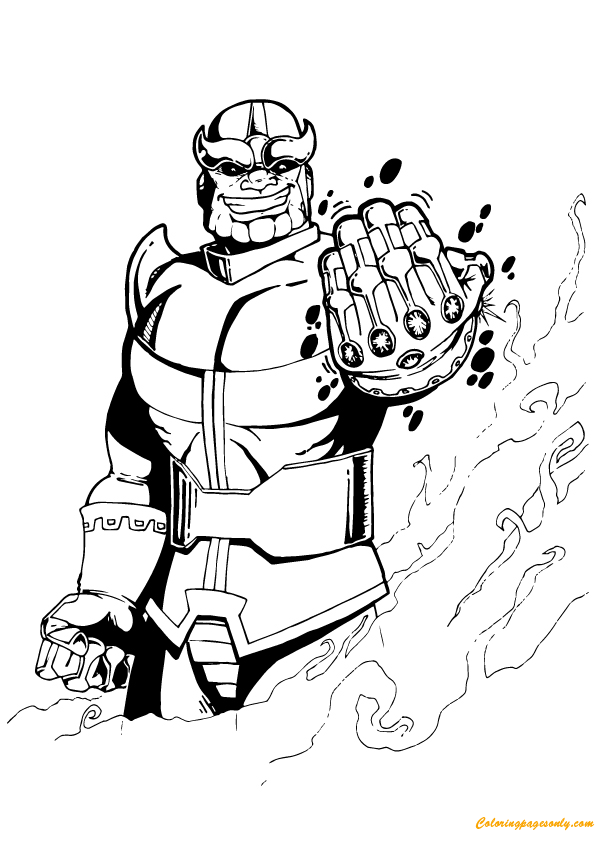 hulk vs thanos coloring page thanos from avengers coloring page free coloring pages thanos vs hulk coloring page
