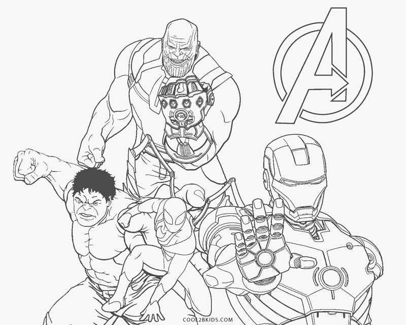 hulk vs thanos coloring page thanos with the bodies of the avengers he killed hulk coloring thanos hulk page vs