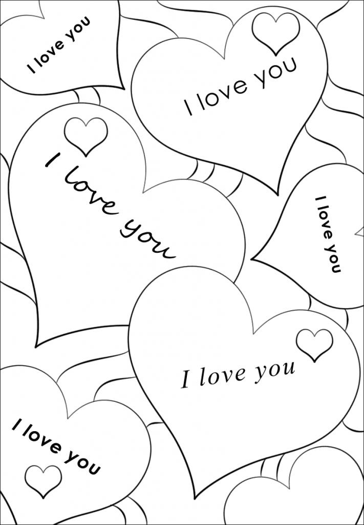 i love you printable coloring pages i love you coloring pages gallery whitesbelfast pages love printable you coloring i
