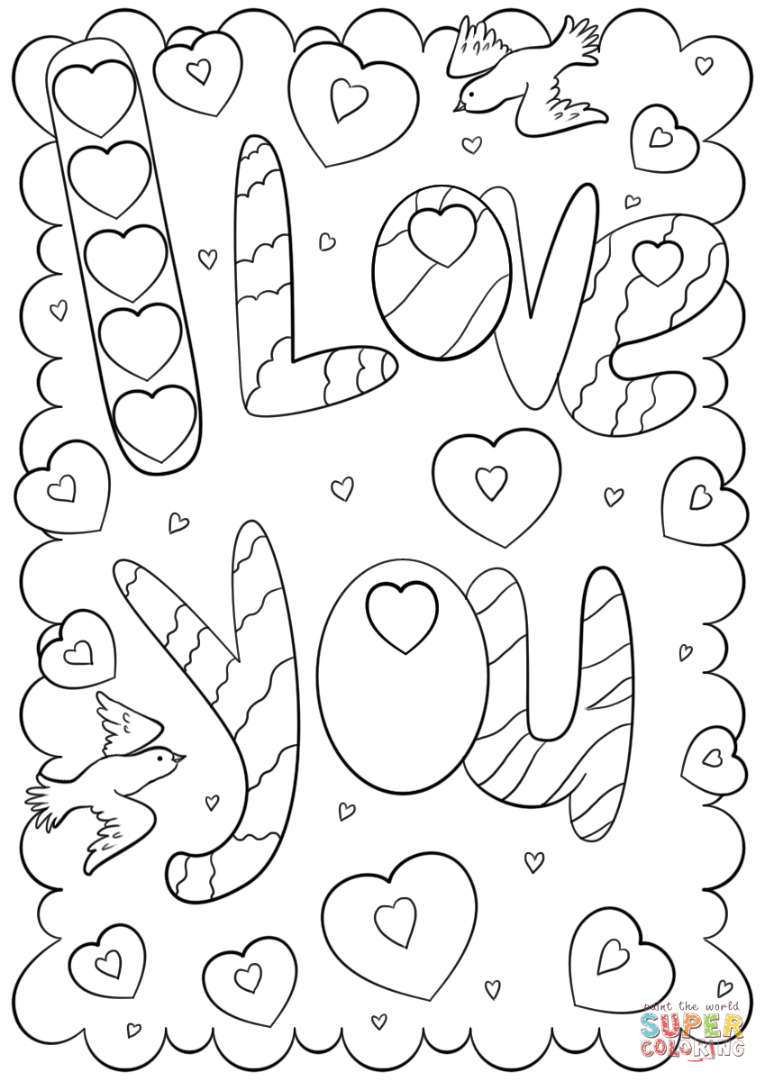 i love you printable coloring pages i love you coloring pages i coloring you pages printable love
